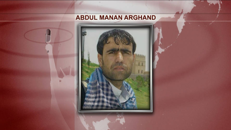 H8 afghan journalist killed abdul manan arghand
