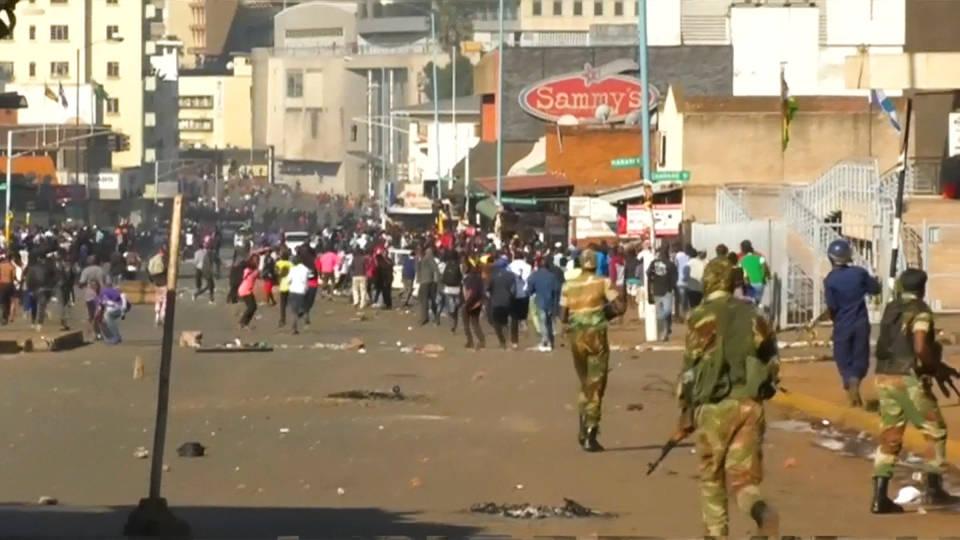 H6 zimbabwe election protests