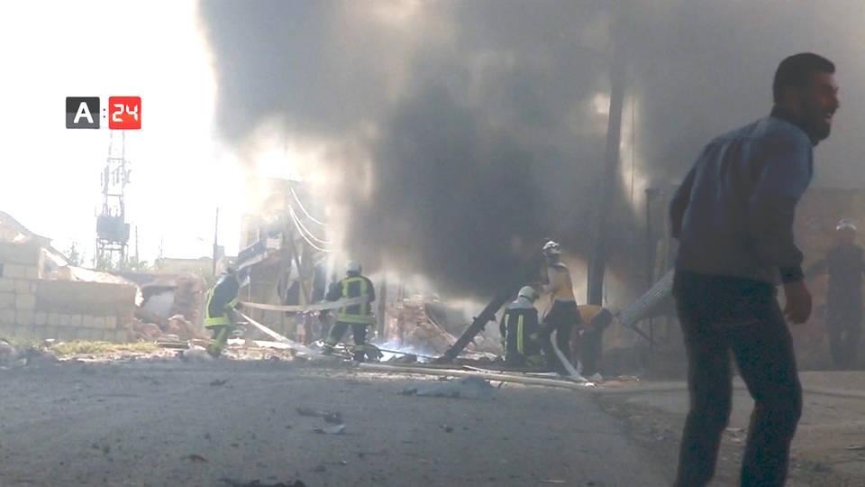 H5 syria idlib russia syria airstrikes