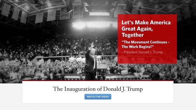 H5 trump website