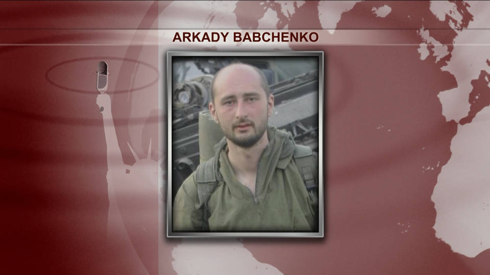 H11 russian journalist babchenko murdered