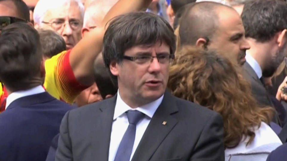 H16 puigdemont catalonia spain charges dropped