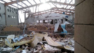 H8 yemen saudi forces bomb msf doctor cholera clinic