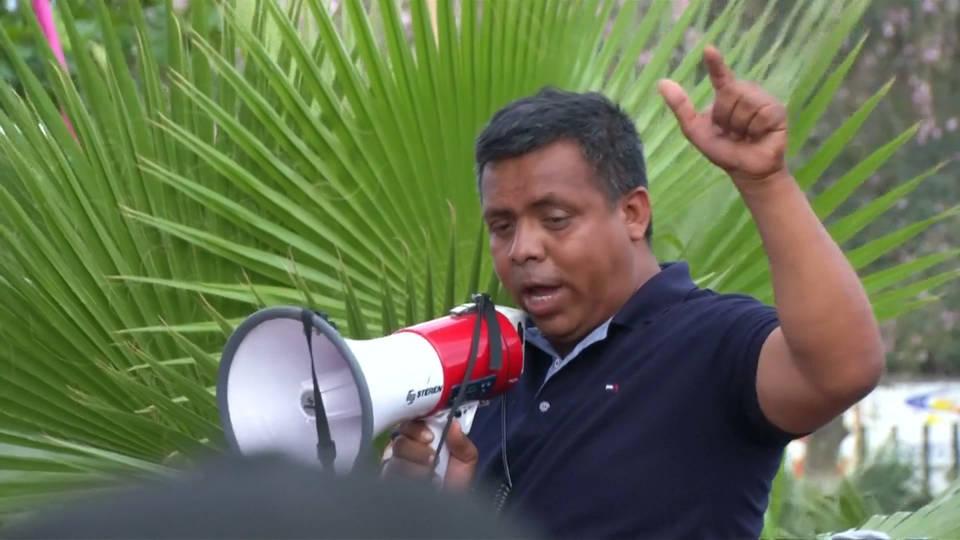 H10 mexico caravan activist