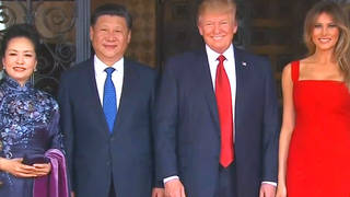 H2 trump campaign rivals biden warren china president xi jinping