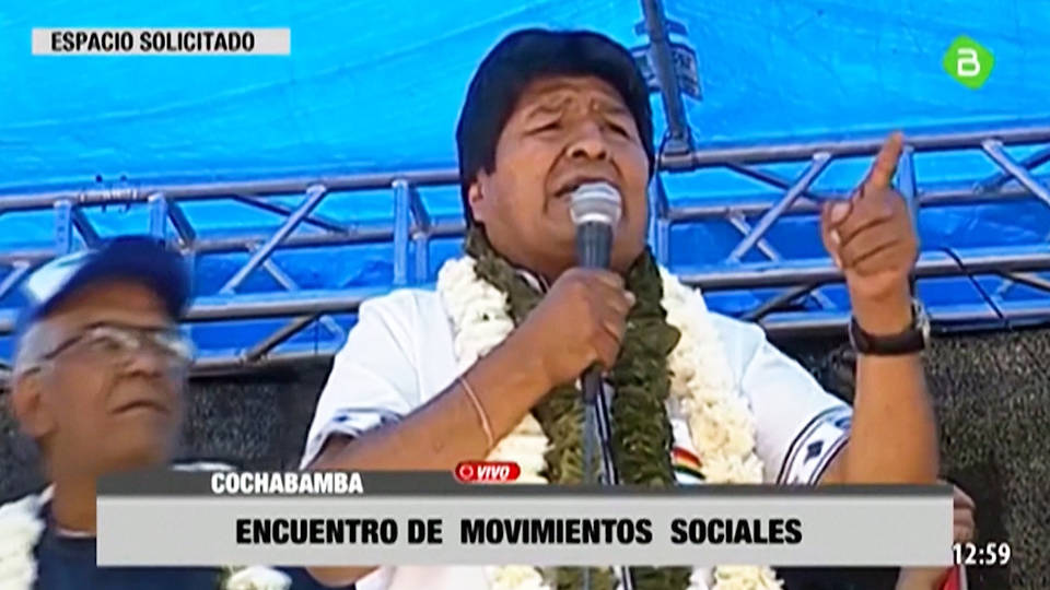 H5 bolivia evo morales election victory opponents cry foul carlos mesa