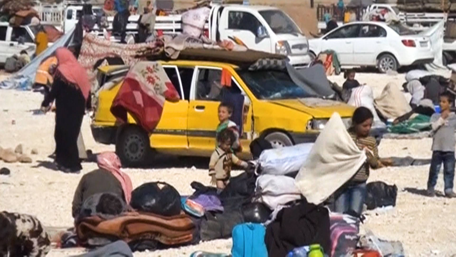 Syria: Nearly 1 Million People Internally Displaced During First 4 Months of 2018