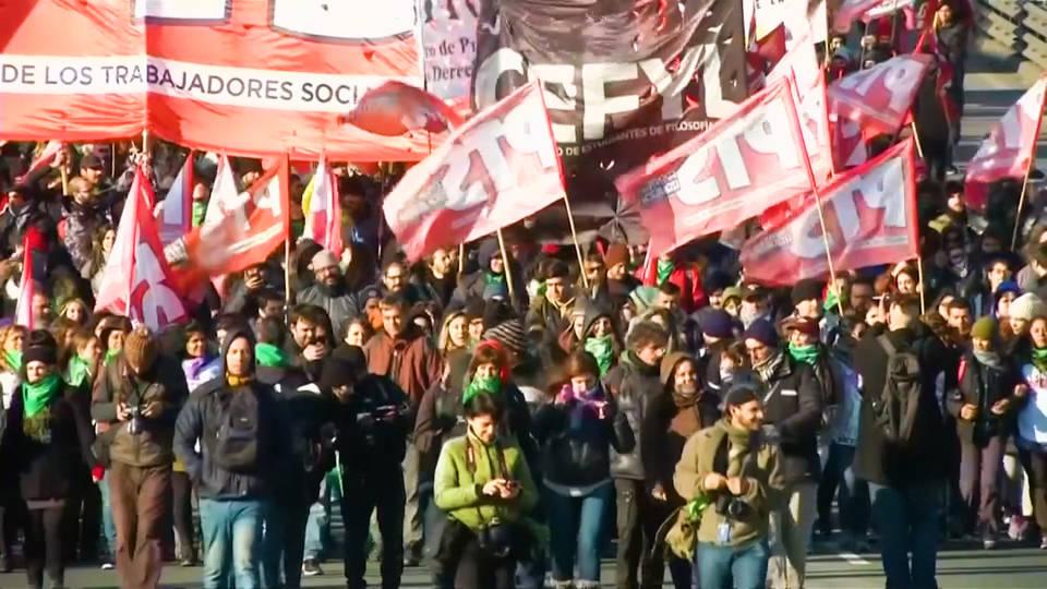 H12 argentina strike