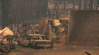 H5 camp fire destruction