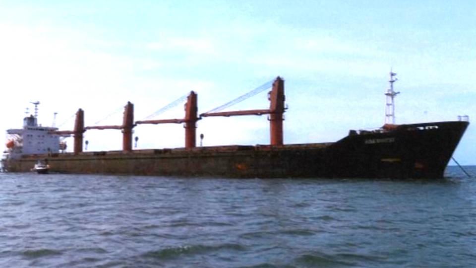 H8 us seizes north korean coal ship sanctions