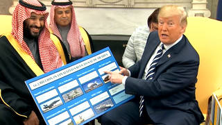 H9 trump saudi arabia china missile program