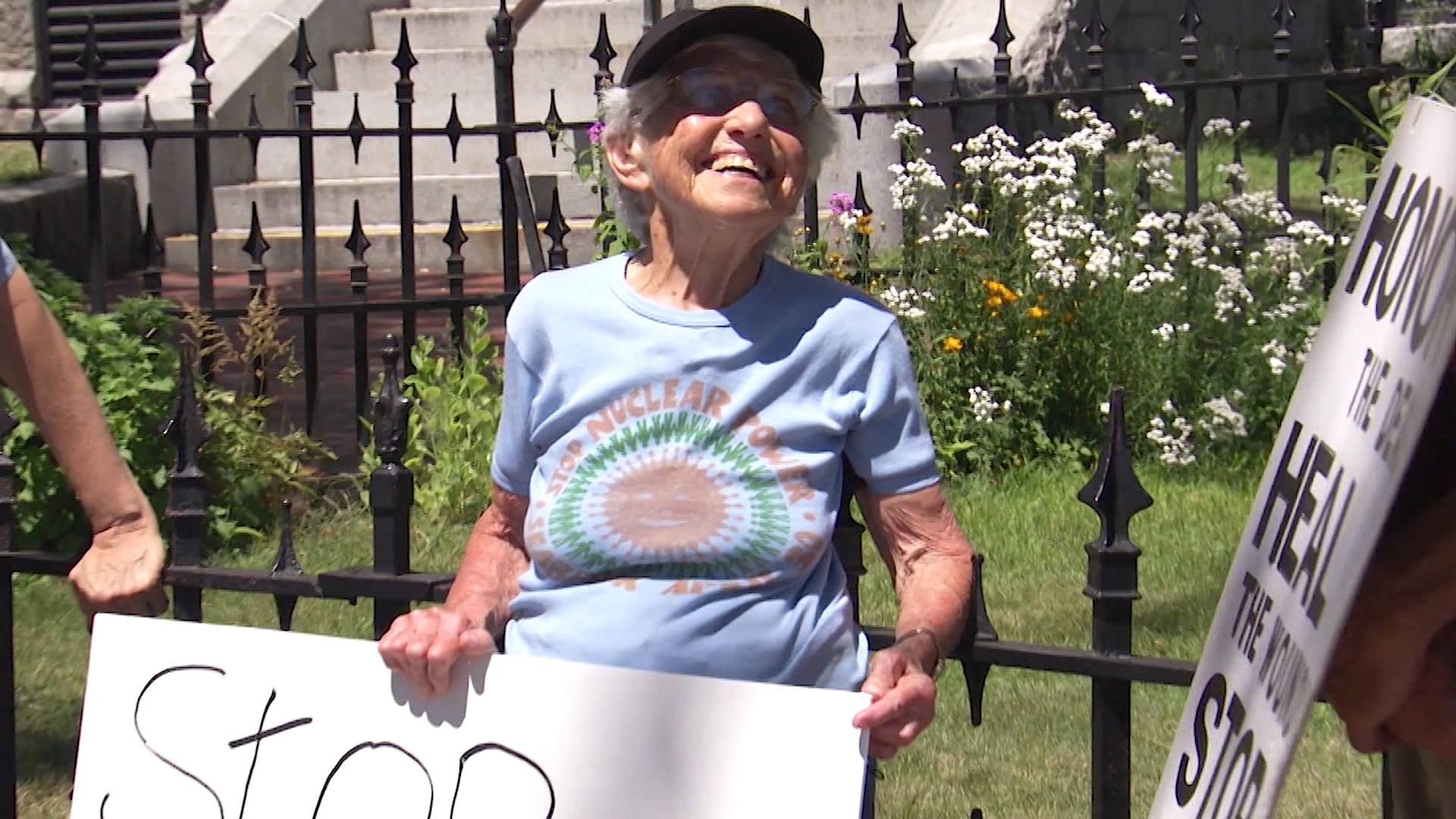 Legendary Peace Activist Frances Crowe Dies at 100
