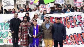 H13 judge rule marco saavedra asylum case next year new york city immigration activist dreamers broward transitional center florida