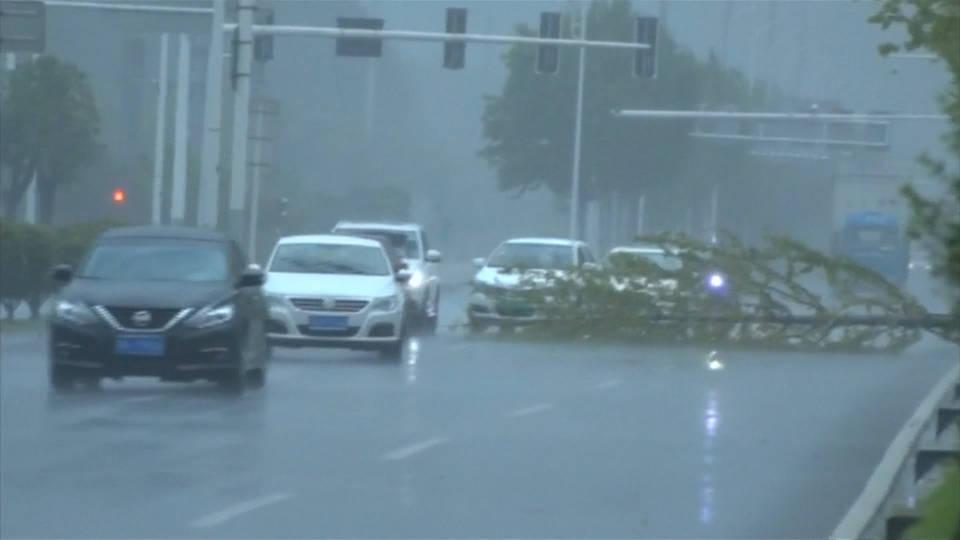 H china typhoon rumbia