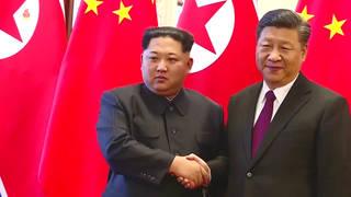 H7 xi jinping kim jong un meeting north korea