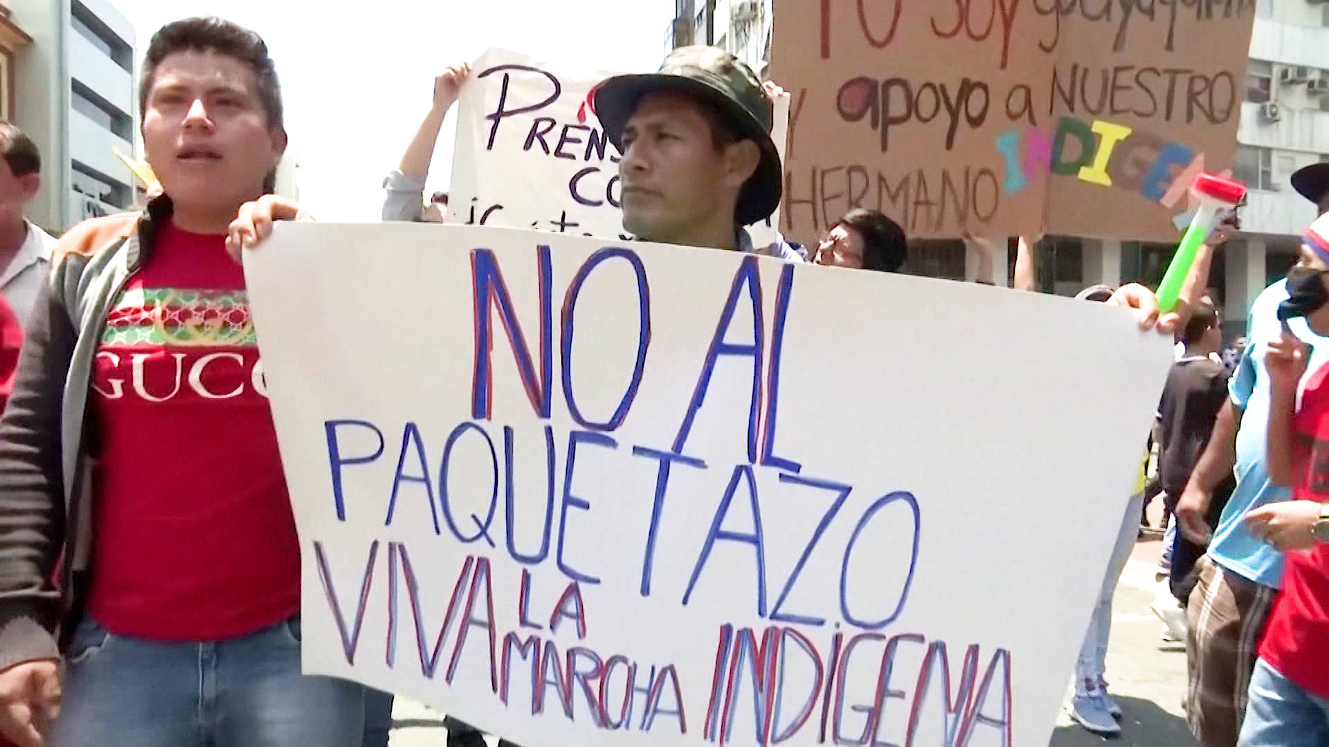 H11 ecuador national strike indigenous protest austerity imf fuel subsidy lenin moreno