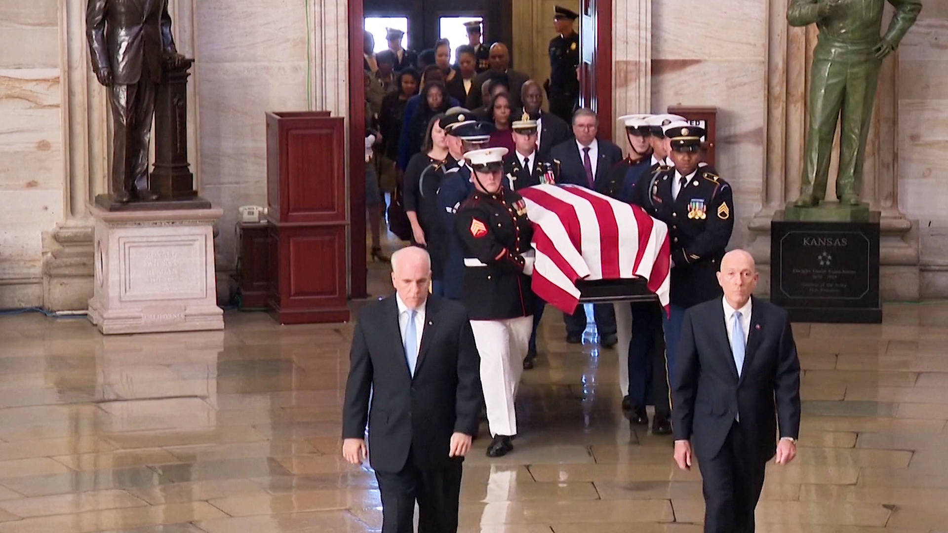 Image result for Cummings is first African-American to be laid in state at the Capitol [Photos]