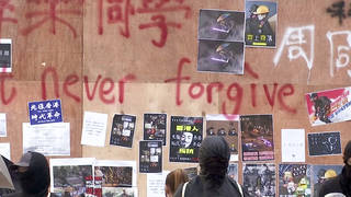 H12 hong kong student dies after clash with police days earlier death chow tsz lok