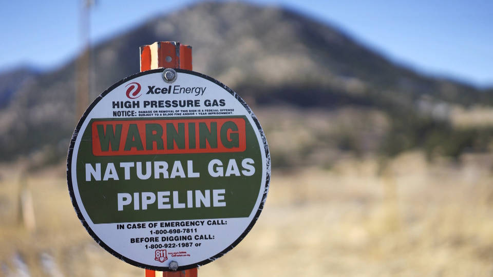 H3 gas pipeline