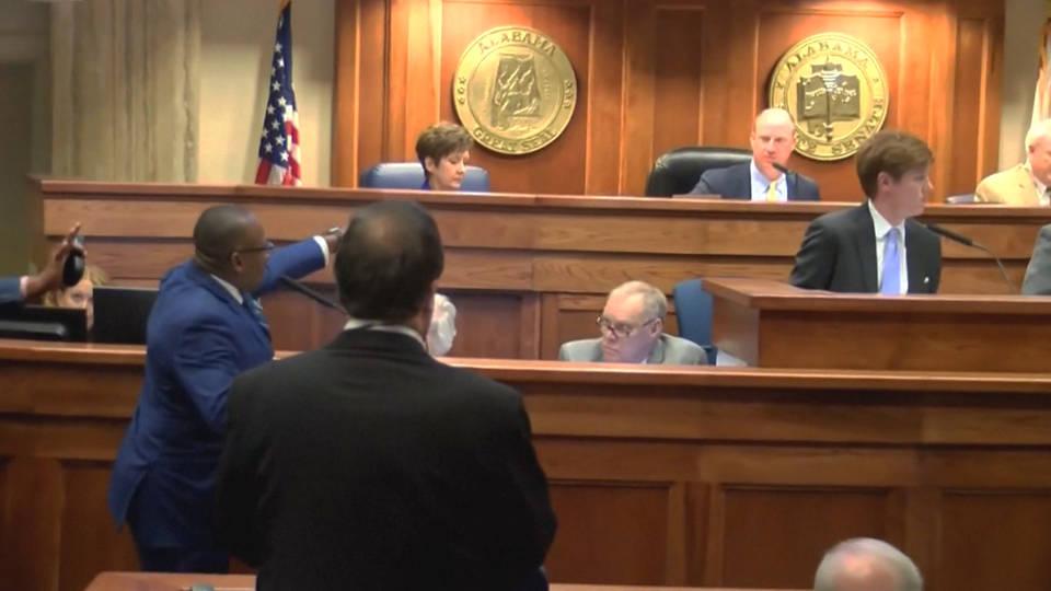 H10 alabama state senate abotion vote delayed bobby singleton