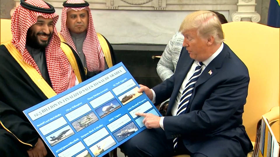 H7 trump saudi weapons sales