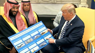 H7 trump saudi weapons sales