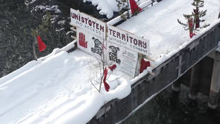 H7 indigenous anti pipeline protests blockades canada transportation rails