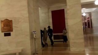 H15 reporter arrested