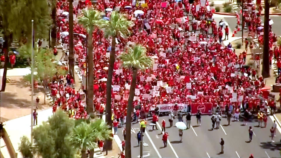 Educators, lawmakers prepare for massive rally Wednesday