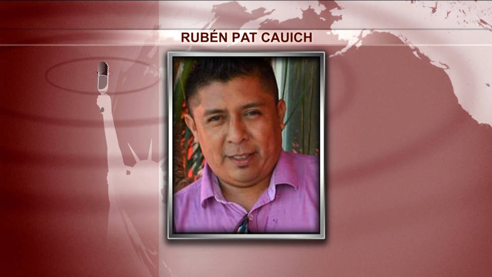H13 mexican journalist cauich murdered