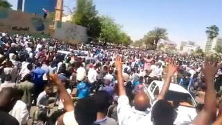 H10 sudan protests crackdown