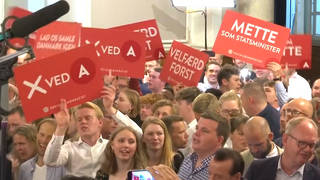 H12 denmark social democrats election mette frederiksen