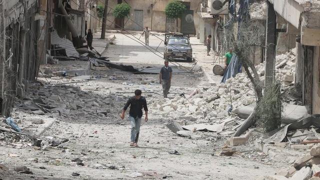 H09 syria destruction