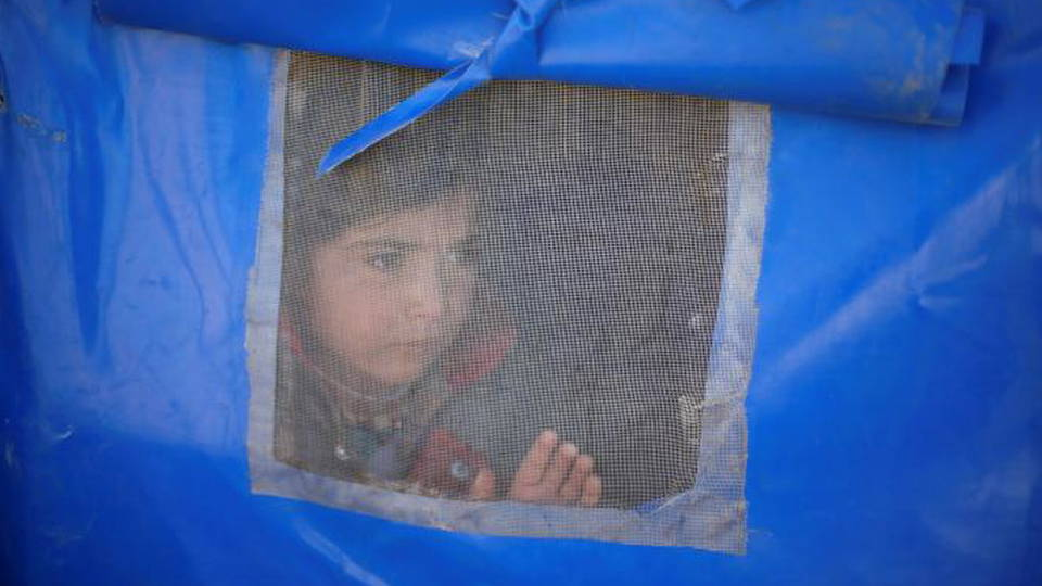 H11 mosul displaced girl