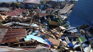 H4 indonesia tsunami destruction