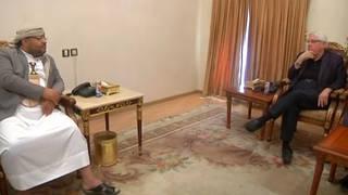 H8 un envoy houthi leader