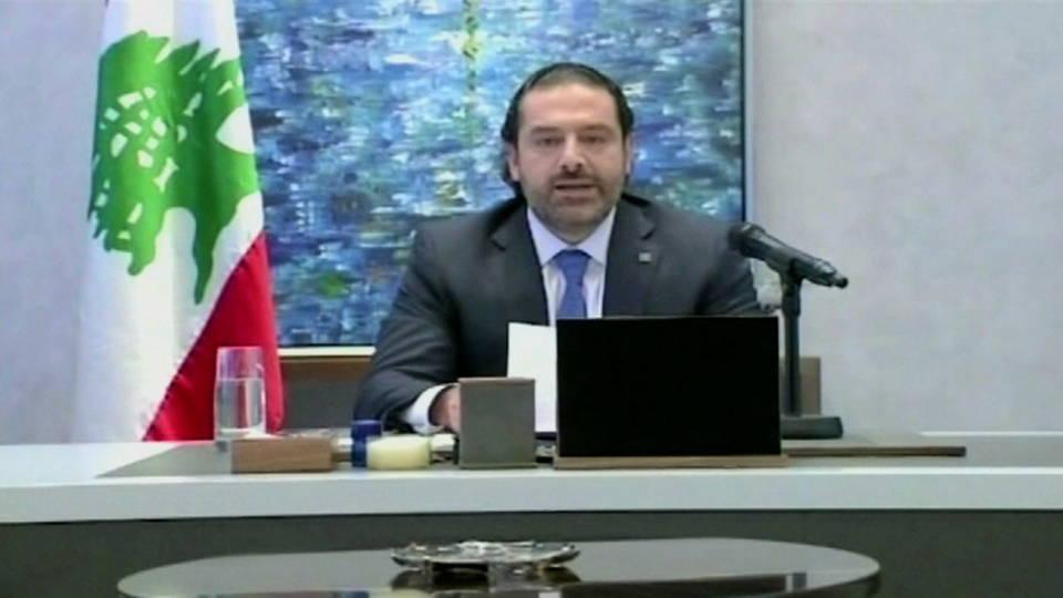 h07 hariri resigns