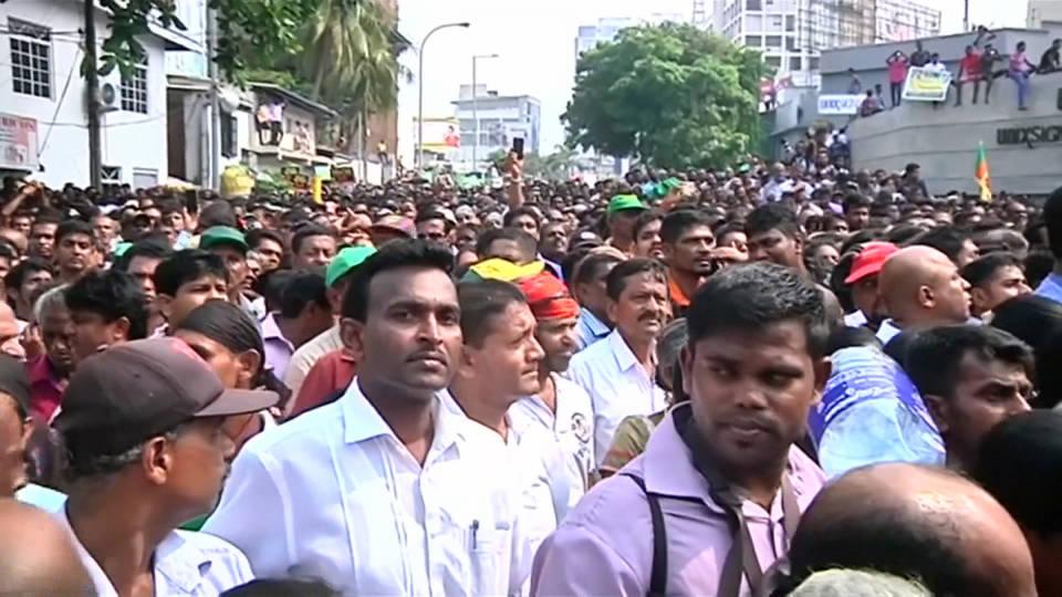 H9 sri lanka protest