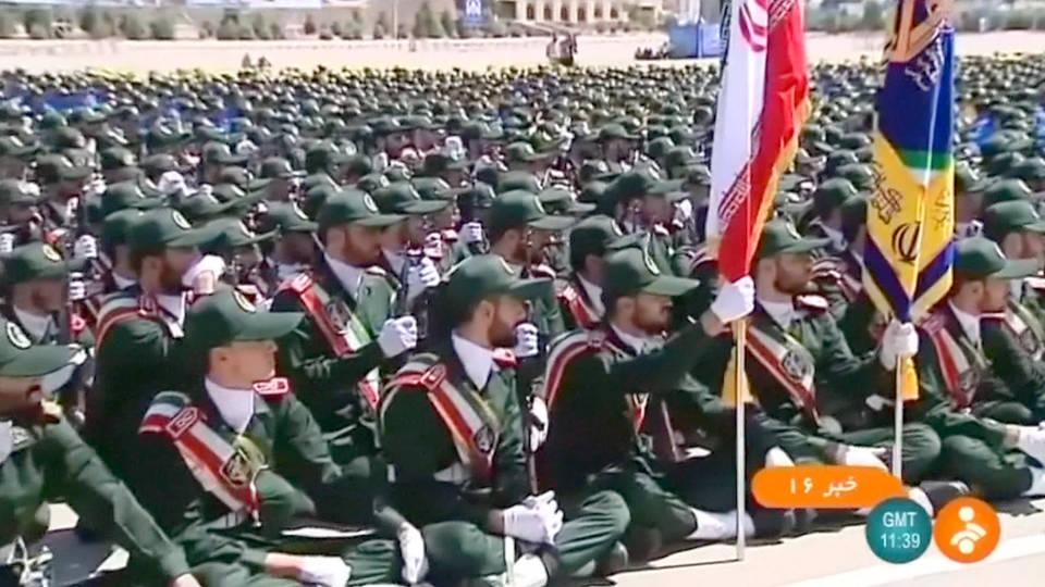 H11 iran revolutionary guard terrorist group