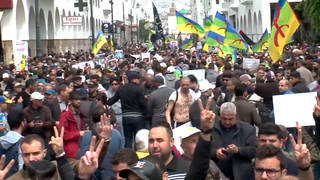 H7 morocco march parliament rabat reforms protesters