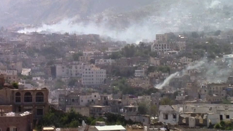 H12 taiz yemen fighting