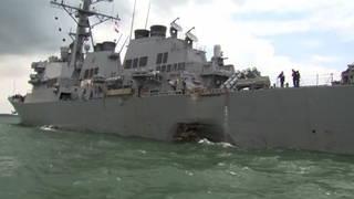 H8 naval collision