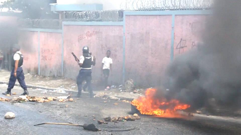 H7 haiti protests