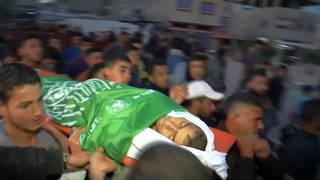 H8 gaza israeli forces kill palestinian teen0