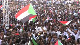 H8 sudan protesters military rule