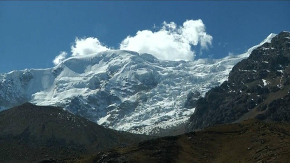 H14 bolivia glacier