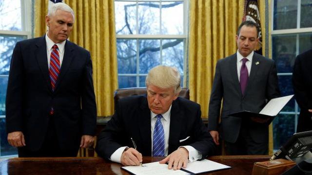 H1 trump signs