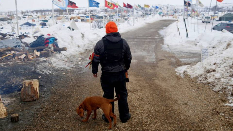 H17 standing rock camp
