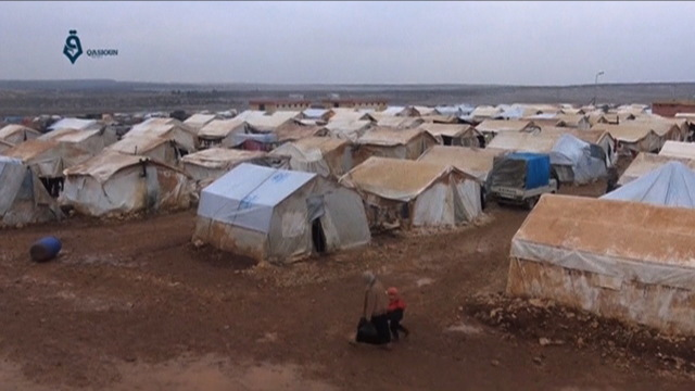 H12 syria displaced tents