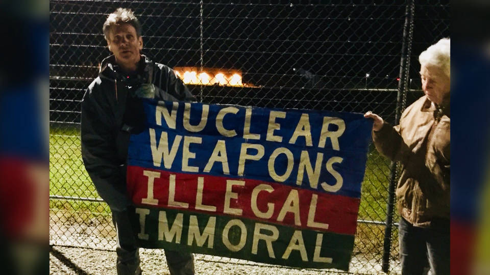 H14 ploughshare activist arrest on us submarine base3